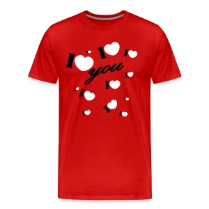 I love you valentine Valentine's Day - Men's Premium T-Shirt