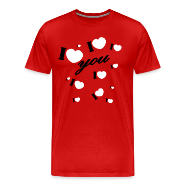 I love you valentine Valentine's Day T-Shirts