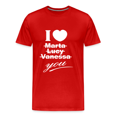 I love you valentine valentine´s day T-Shirts