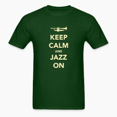 Keep Calm And Jazz On - Trumpet T-Shirts