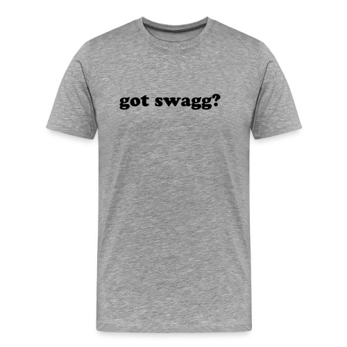 got swagg? - Men's Premium T-Shirt