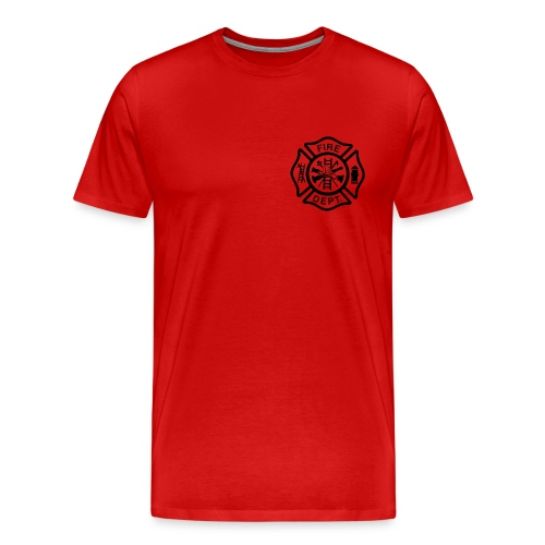 FIRE DEPT T-SHIRT - Men's Premium T-Shirt