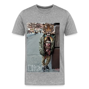 Men's Tiger Head Tee - Men's Premium T-Shirt