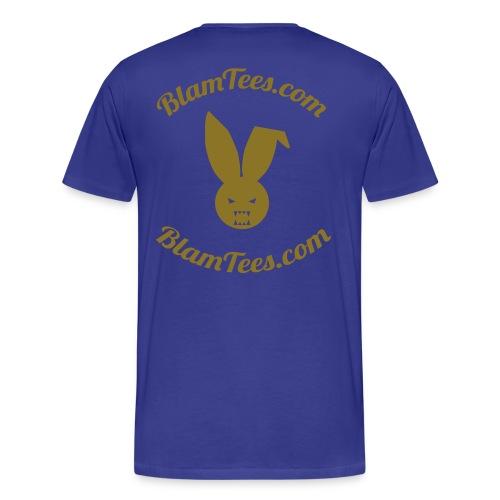 Tebow Tribute - TebOWNED Crucifix - Mens T-Shirt - Men's Premium T-Shirt