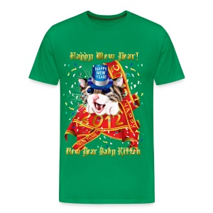 Happy New (Mew) Year 2012 - Men's Premium T-Shirt