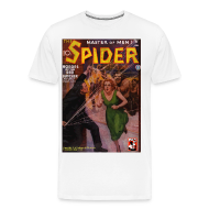 T-Shirts ~ Men's Premium T-Shirt ~ The Spider June 1935 3/4XL