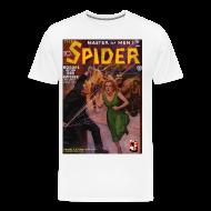 T-Shirts ~ Men's Premium T-Shirt ~ The Spider June 1935 3/4XL