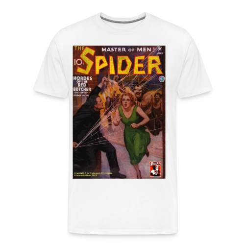 The Spider June 1935 3/4XL - Men's Premium T-Shirt
