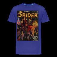 T-Shirts ~ Men's Premium T-Shirt ~ The Spider Nov 1942 Zara - The Murder Master, 2/4XL