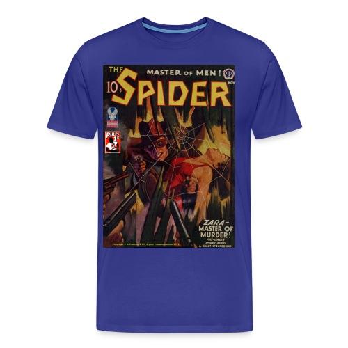 The Spider Nov 1942 Zara - The Murder Master, 2/4XL - Men's Premium T-Shirt