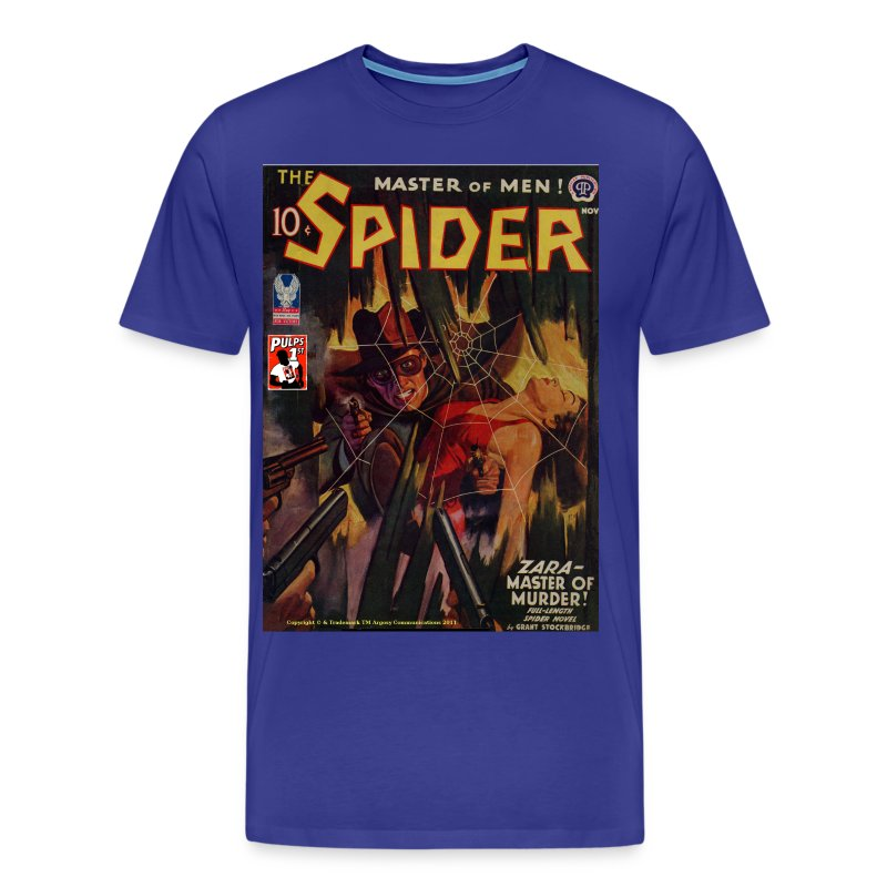 The Spider Nov 1942 Zara - The Murder Master, 2/4XL - Men's Premium T-Shirt