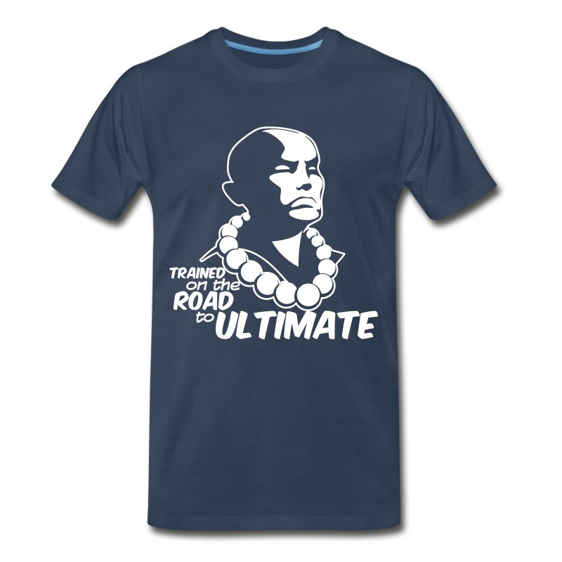 Trained on the Road to Ultimate (Mens) - Men's Premium T-Shirt