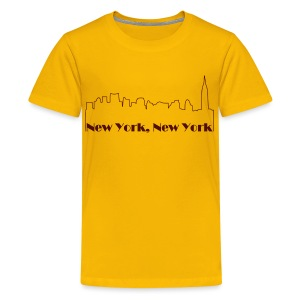 New York Skyline - Kids' Premium T-Shirt