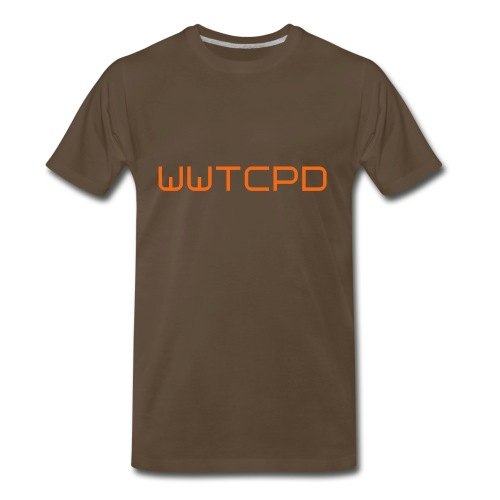 WWTCPD Brown - Men's Premium T-Shirt