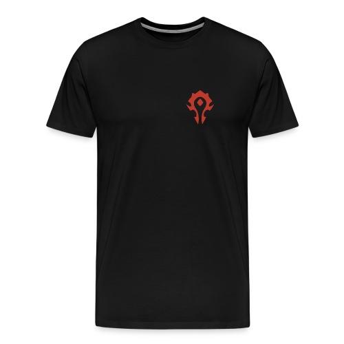 For the Horde! - Men's Premium T-Shirt