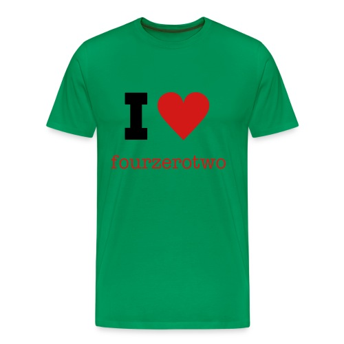 I Love fourzerotwo Tee - Men's Premium T-Shirt
