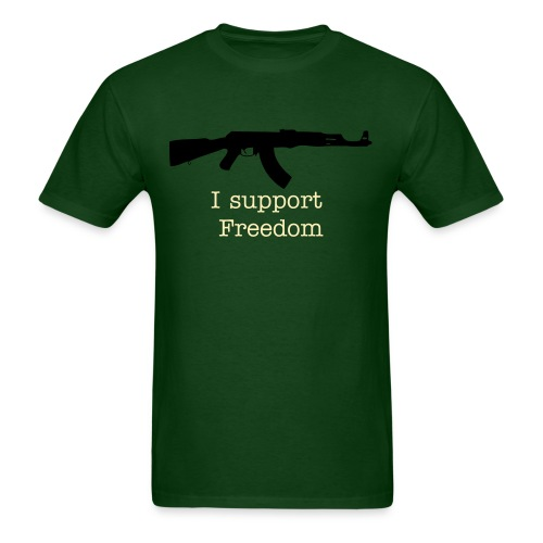 AK support freedom - Men's T-Shirt