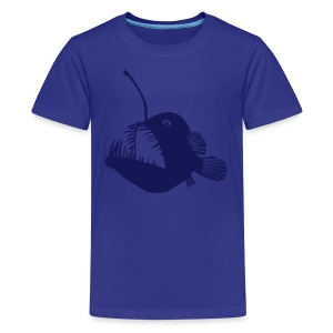 animal t-shirt anglerfish frogfish sea devil deep sea angler monkfish fishing fisherman monster - Kids' Premium T-Shirt