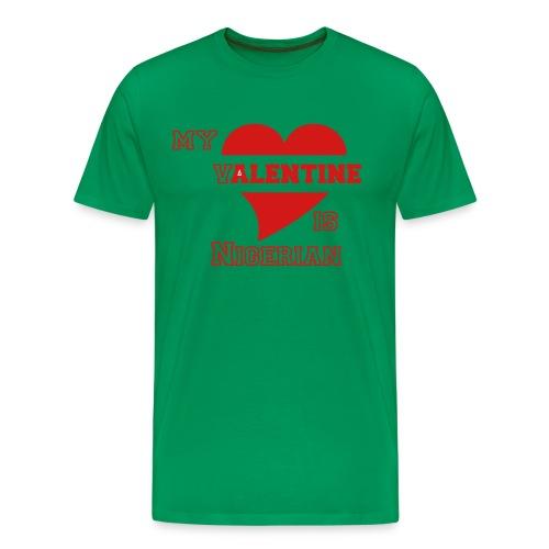 Nigerian valentine - Men's Premium T-Shirt