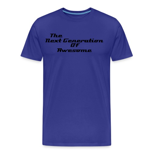 Men's The Next Generation Of Awesome T-Shirt - Men's Premium T-Shirt