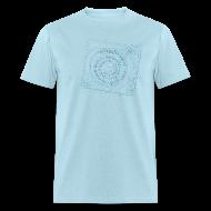 T-Shirts ~ Men's T-Shirt ~ mvyradio Phonograph & Spiral - front