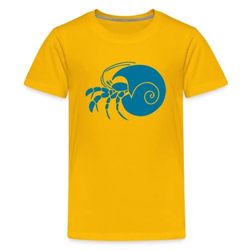 animal t-shirt hermit crab crayfish cancer shrimp prawn lobster ocean snail conch seafood sea food shellfish - Kids' Premium T-Shirt