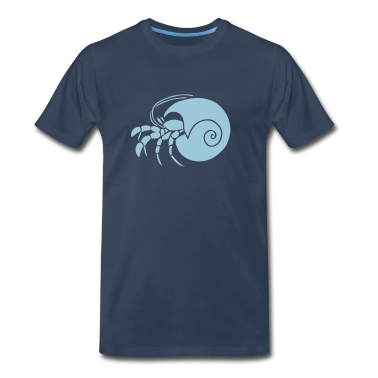 animal t-shirt hermit crab crayfish cancer shrimp prawn lobster ocean snail conch seafood sea food shellfish T-Shirts