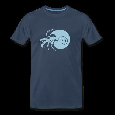 animal t-shirt hermit crab crayfish cancer shrimp prawn lobster ocean snail conch seafood sea food shellfish T-Shirts