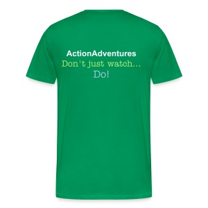 ActionAdventures - Big Man - Men's Premium T-Shirt