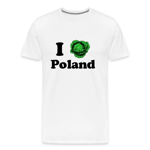 I Cabbage Poland - Men's Premium T-Shirt