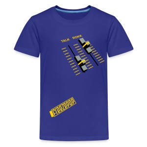 Less Talk More Rokk Children's Tee - Kids' Premium T-Shirt
