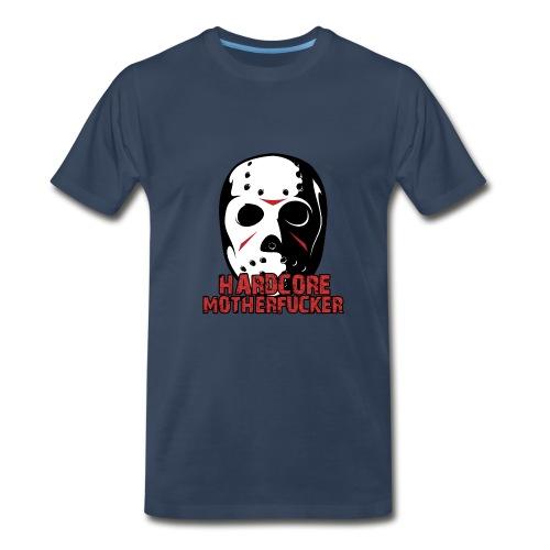 HARDCORE MOTHERFUCKER T-SHIRT IN BLUE - Men's Premium T-Shirt