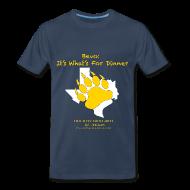 T-Shirts ~ Men's Premium T-Shirt ~ Bevo:  It's What's For Dinner - Men's