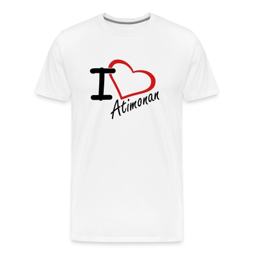 I Love Atimonan - Men's Premium T-Shirt