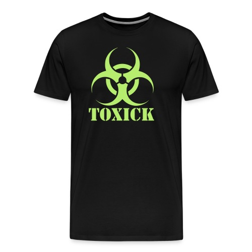 Toxick Gym Shirt Logo - Men's Premium T-Shirt