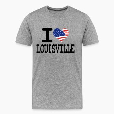 i love louisville T-Shirts