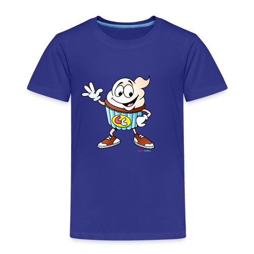 Cupcake Charlie Toddler Tee - Toddler Premium T-Shirt