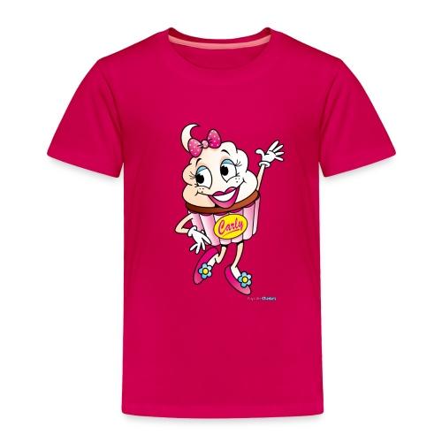 Cupcake Carly Toddler Tee - Toddler Premium T-Shirt