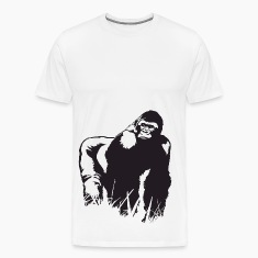 King Gorilla HD Design T-Shirts