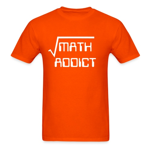 Math addict men's shirt - Men's T-Shirt