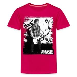 Amasic Black & White - Kids' Premium T-Shirt