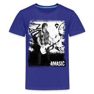 Amasic Black & White - Kids' Premium T-Shirt