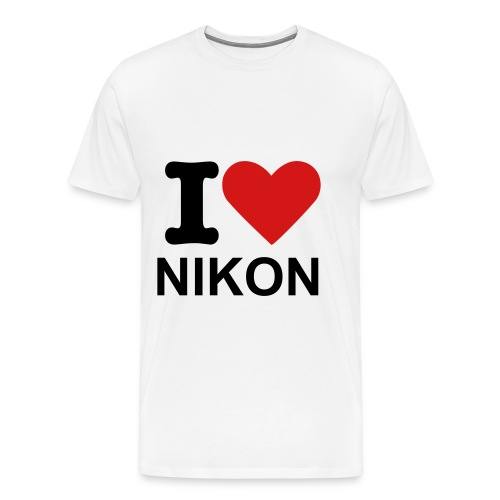 I LOVE NIKON - Men's Premium T-Shirt