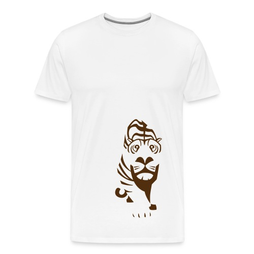 TIger (men's) - Men's Premium T-Shirt