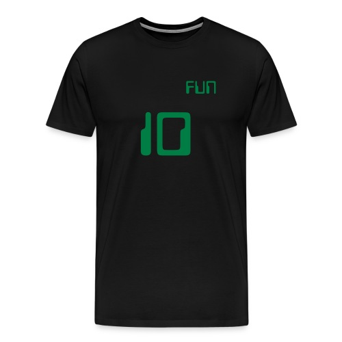 Ten To The Power Of Fun (Mens) - Men's Premium T-Shirt