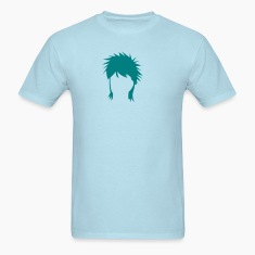 spiked mullet hair style T-Shirts