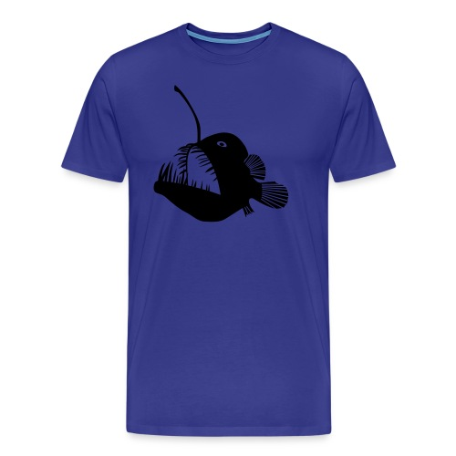 animal t-shirt anglerfish frogfish sea devil deep sea angler monkfish fishing fisherman monster - Men's Premium T-Shirt