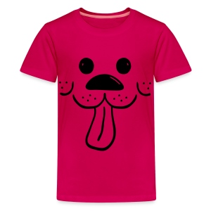 SMASH Dog with a Waggly Tongue Children's Tee Shirt on SALE - Kids' Premium T-Shirt