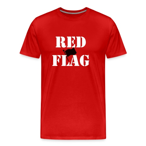 Red Flag T-shirt - Men's Premium T-Shirt