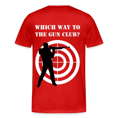 The Gun Club Vice President - Men's Premium T-Shirt